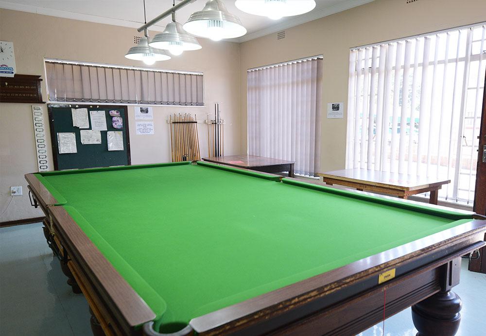 retirement village snooker table